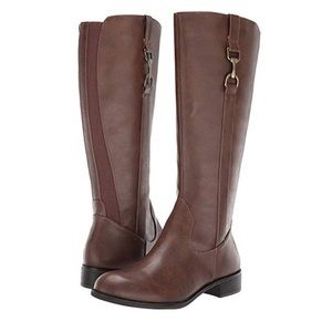 Kylie stormy riding boots 6.5 m nib
